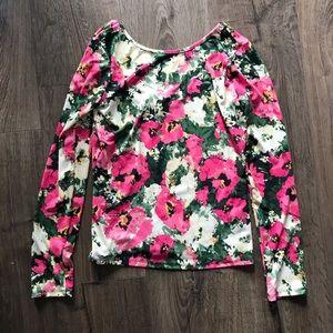 H&M Floral Print Long Sleeve
